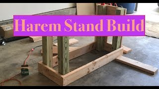 How to Build A Fish Tank Stand - (Ep. 2) Clown Harem