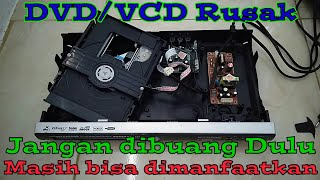 Jangan Buang Dulu DVD/VCD Rusak