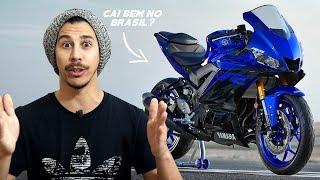 CAI BEM? Nova Yamaha R3 2019 cairia bem no Brasil? - Motorede