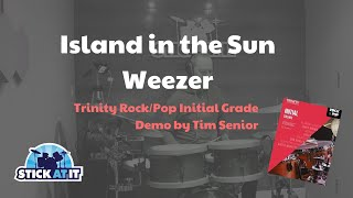 Island In The Sun - Trinity Rock/Pop Initial Grade - Drums