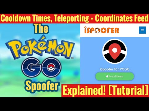 ISpoofer Cooldown, Teleporting And Coordinates Feed EXPLAINED - ISpoofer Pokemon Go