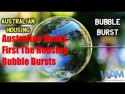 ALERT! ALERT! Australian Banks: First The Housing Bubble Bursts - Now A Public Inquiry