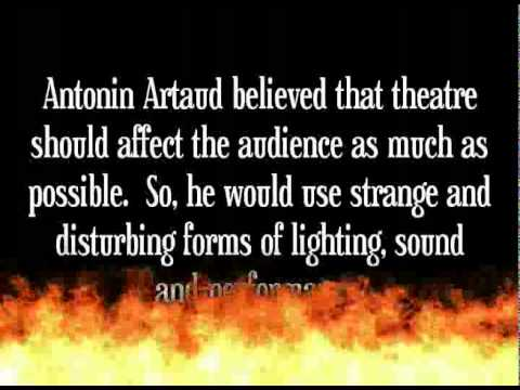 Theatre Of Cruelty -Antonin Artaud