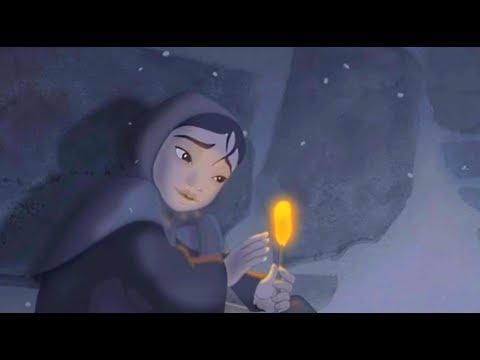 Мультфильм девочка свеча