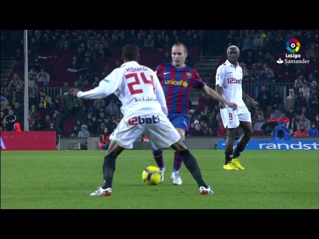 Resumen de FC Barcelona vs Sevilla FC (4-0) 2009/2010