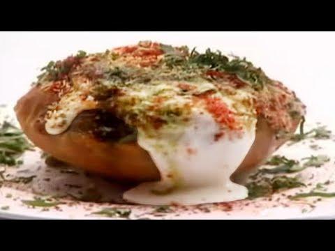 Raj Kachori Recipe By Sanjeev Kapoor | Raj Kachori Banane Ki Vidhi | Indian Chaat | Khana Khazana