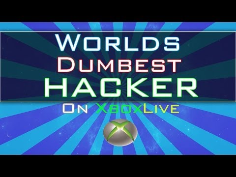 Dumbest Wanna be Hacker on Xbox Live