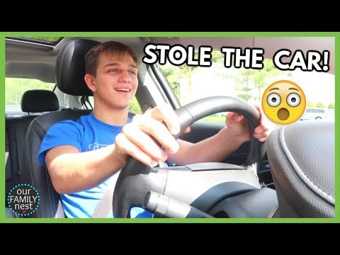 stealing-my-parents-car-without-a-drivers-license!