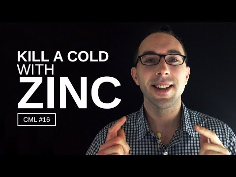 How To Kill A Cold With Zinc | Chris Masterjohn Lite
