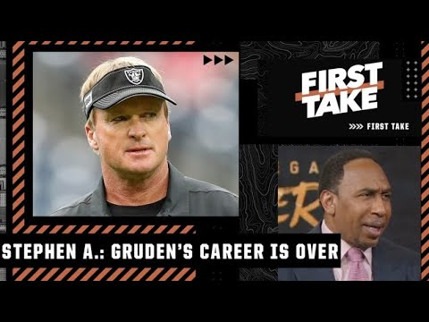Stephen A. questions why Jon Gruden was able to coach vs. the Bears   First Take