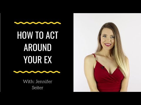 how to act around your ex (5 tips for handling unexpected encounters with your ex)