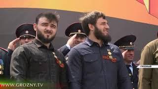 В Грозном прошел военный парад посвященный 74 летию со Дня Победы в ВОВ