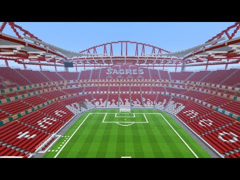 mapa estadio da luz Minecraft   MEGABUILD   Estadio Da Luz (Benfica Stadium) Part 3 +  mapa estadio da luz