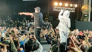 Divine & Ranveer Singh AZADI song at #Gullyboy Album Launch