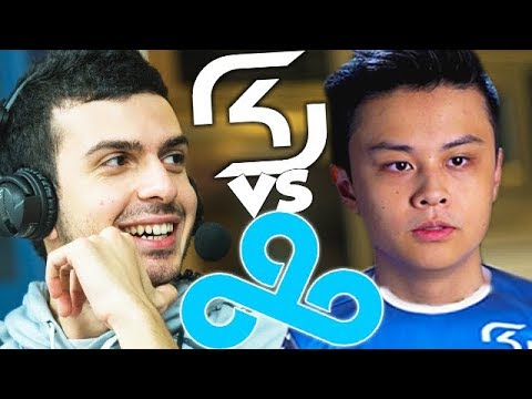 Cloud9 Vs SK Debut Match With NEW ROSTERS!