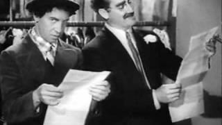 Hermanos Marx.Una noche en la opera.El contrato.