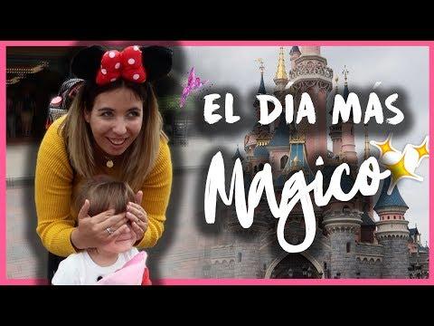 El DÍA más MAGICO de nuestras vidas ✨🏰 + COMO de CARO es DISNEYLAND? | Vlog 2 Viaje a DISNEYLAND