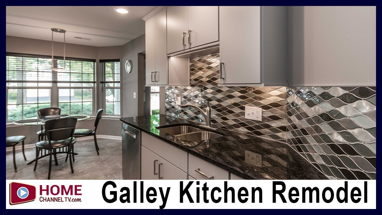 Galley Kitchen Remodel Before After Modern Design You
