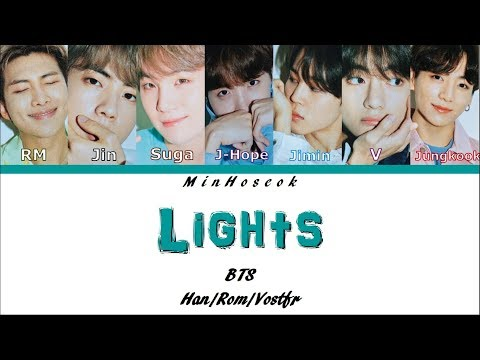 {Kan/Rom/Vostfr} BTS (방탄소년단) – Lights Color Coded Lyrics