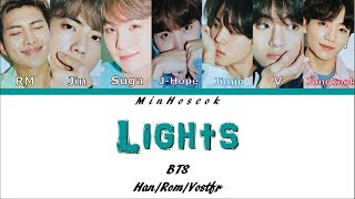{Kan/Rom/Vostfr} BTS (방탄소년단) - Lights Color Coded Lyrics