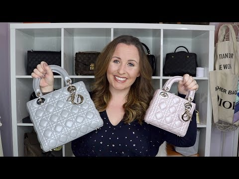 279f48803b How to spot a fake lady dior bags - YouTube