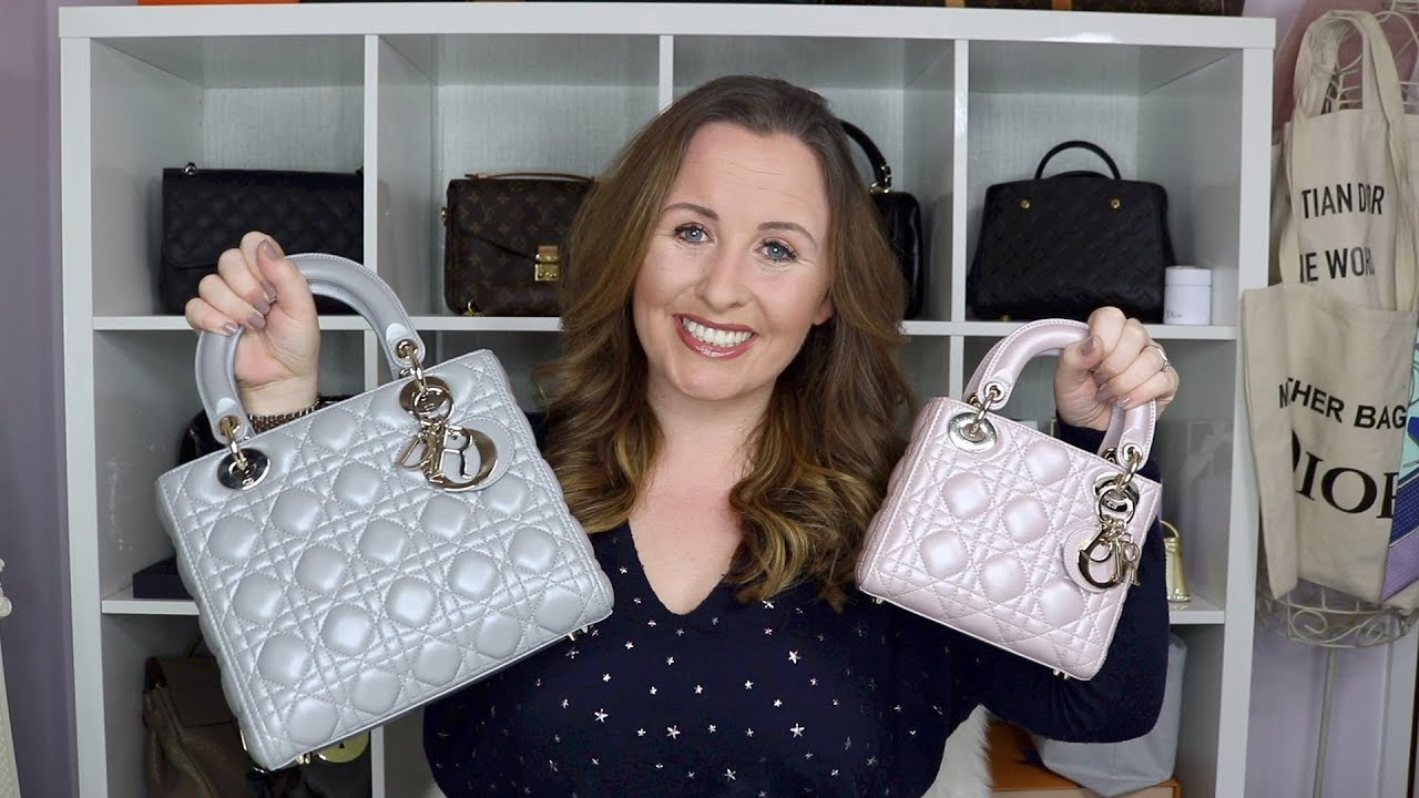 55df92df90 How to spot a fake lady dior bags - YouTube