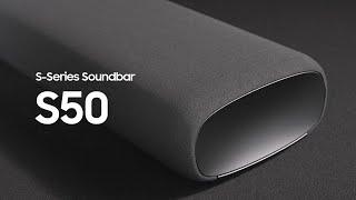 Soundbar - S50A: Official Introduction | Samsung