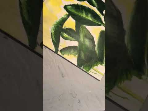 Painting edges | Final steps | Abstract Artwork | Contemporary Art