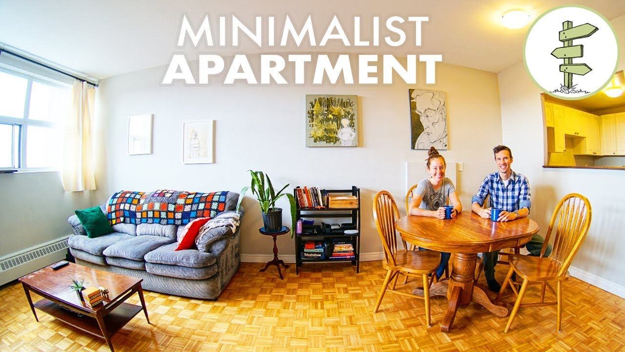 Our Minimalist Apartment Tour Comfortable Minimalism Youtube