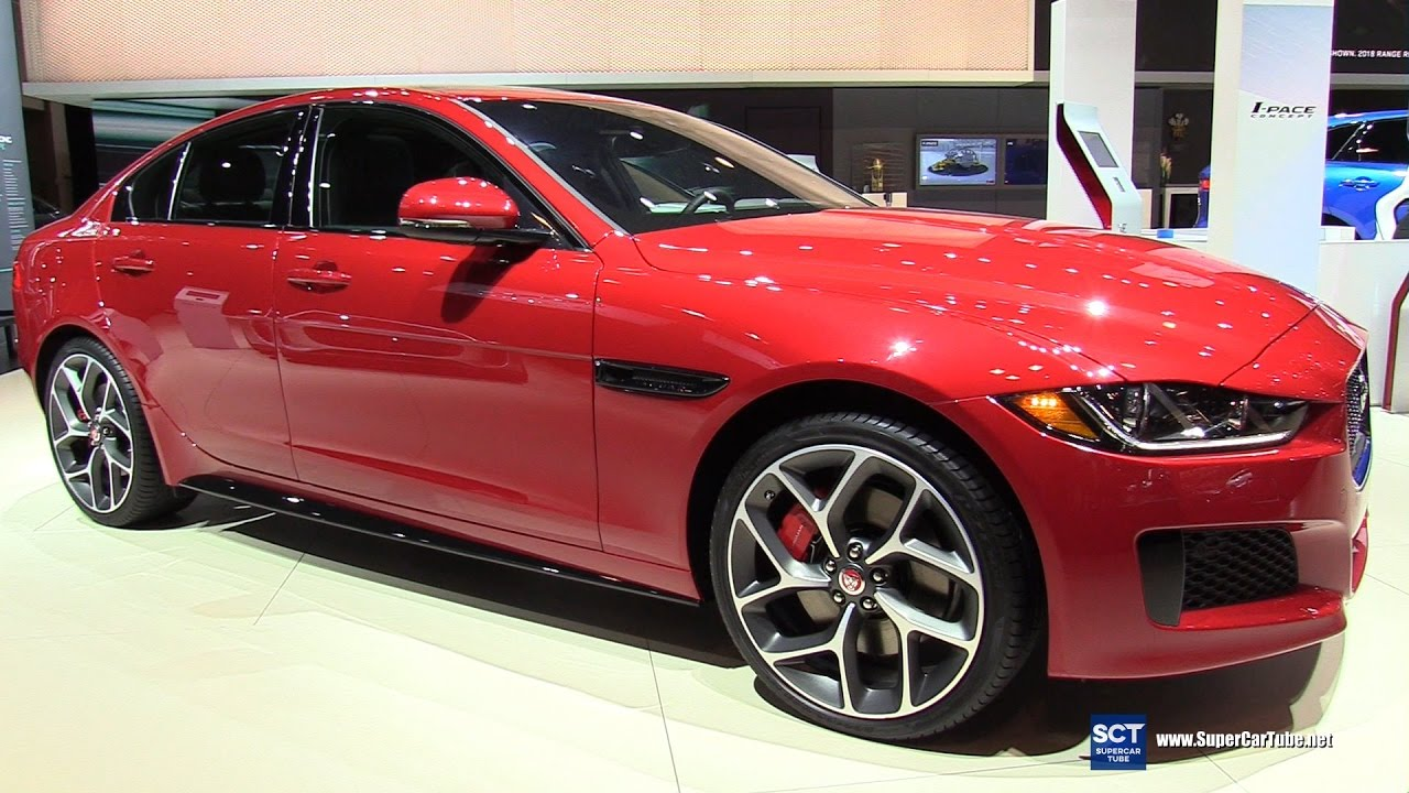 2018 jaguar line up. perfect jaguar 2018 jaguar xe 30 v6 s awd  exterior and interior walkaround 2017 new  york auto show with jaguar line up