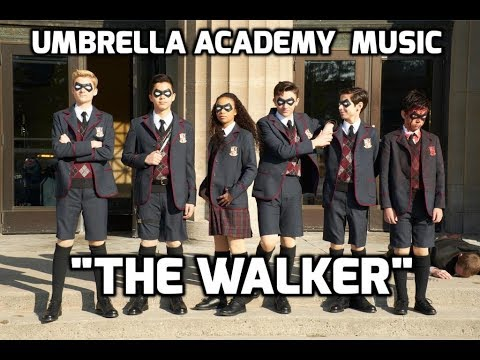 """Fitz and the Tantrums - """"The Walker"""", The Umbrella Academy Soundtrack,  with Lyrics"""