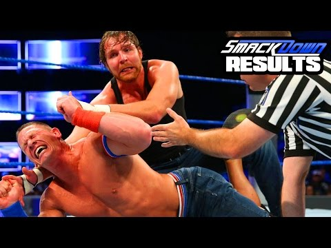 CENA LOSES CLEAN?? WWE Smackdown Live 9/20/16 Results(Going in Raw Wrestling Podcast #102)