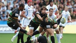 Northampton Saints vs Exeter Chiefs - Aviva Premiership Rugby 2013/14