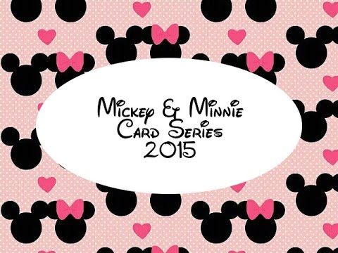 Mickey and Minnie Card Series 2015 Christmas YouTube – Youtube Valentines Day Cards