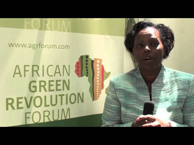 AGRF 2012 - AGRA Growing Africa's Agriculture - Jane Karuku, AGRA President