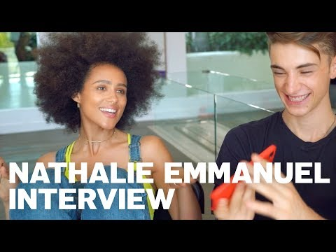 Nathalie Emmanuel Gives RAW