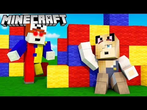 KLAUN TROLL W MINECRAFT! (Hide And Seek) | Bella Vs Vito