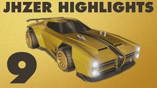 JHZER Highlights 9 | Competitive Rocket League Best Goals Montage
