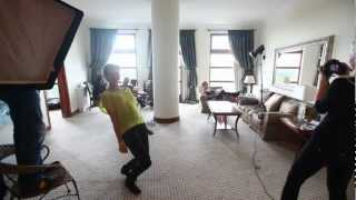 "Shooting ""La Femme Fatale"" - video backstage 2012"