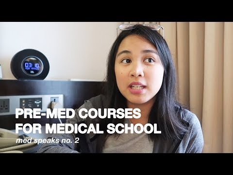 PRE-MED COURSES YOU CAN TAKE IN COLLEGE (BEST PRE-MED COURSE) | Ian Sta Maria