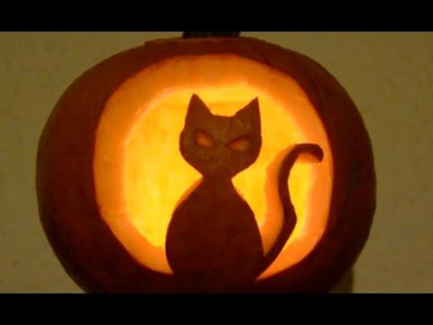 Cmo tallar una calabaza para Halloween facilisimocom YouTube