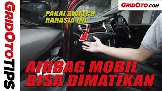 Cara Mematikan Airbag Penumpang Depan Toyota Kijang Innova | How To | GridOto Tips