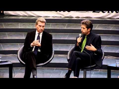 Oettinger vs. Palmer - Das Duell /Teil 2 - Uni Freiburg, Audimax, 20.11.2011