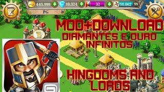 Kingdoms And Lords Mod Com Muitos diamantes,ouro Infinitos