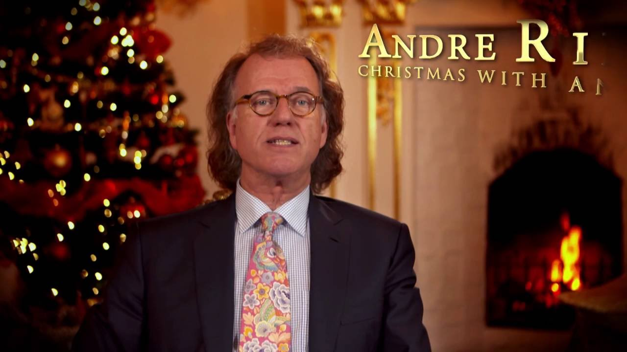 A Christmas message from André Rieu! - YouTube