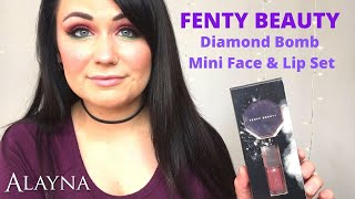 Fenty Beauty Diamond Bomb Face/Lip Set REVIEW