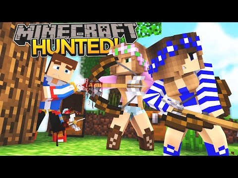 LITTLE DONNY IS BEING HUNTED!!! - Minecraft - Little Donny Adventures.