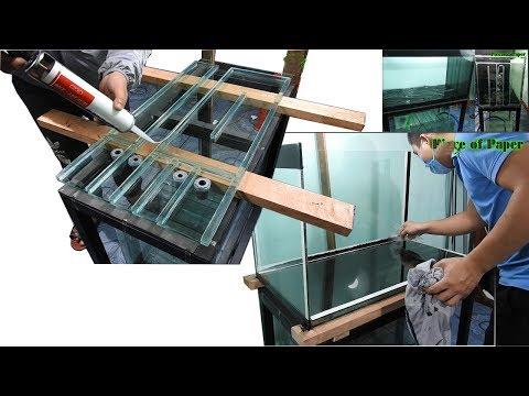 Aquarium Model 18 - Aquarium 4 Layer Bottom/cleaner