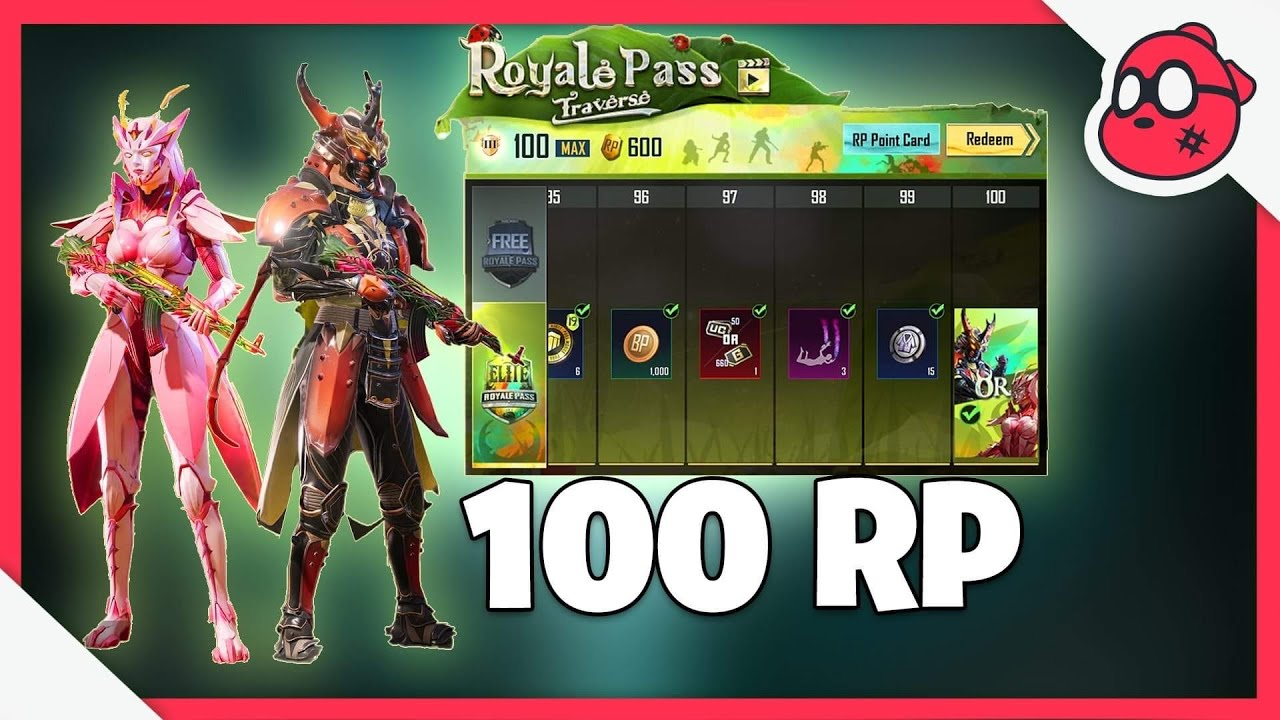 Download MAXED S19 - 100 RP ROYALE PASS