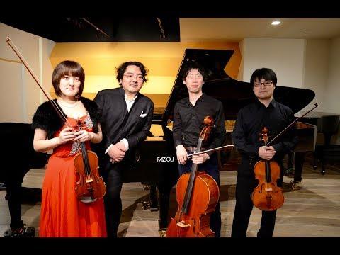 Shusuke Kanda & cise trio Brahms Piano Quartet No 1 in G-minor Op.25